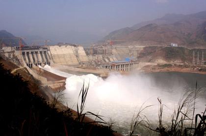 Thủy điện Sơn La. Ảnh minh họa/internet.