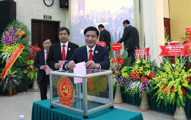 Đại hội bầu Ban Chấp hành Đảng bộ Khối DNTW nhiệm kỳ 2015 - 2020