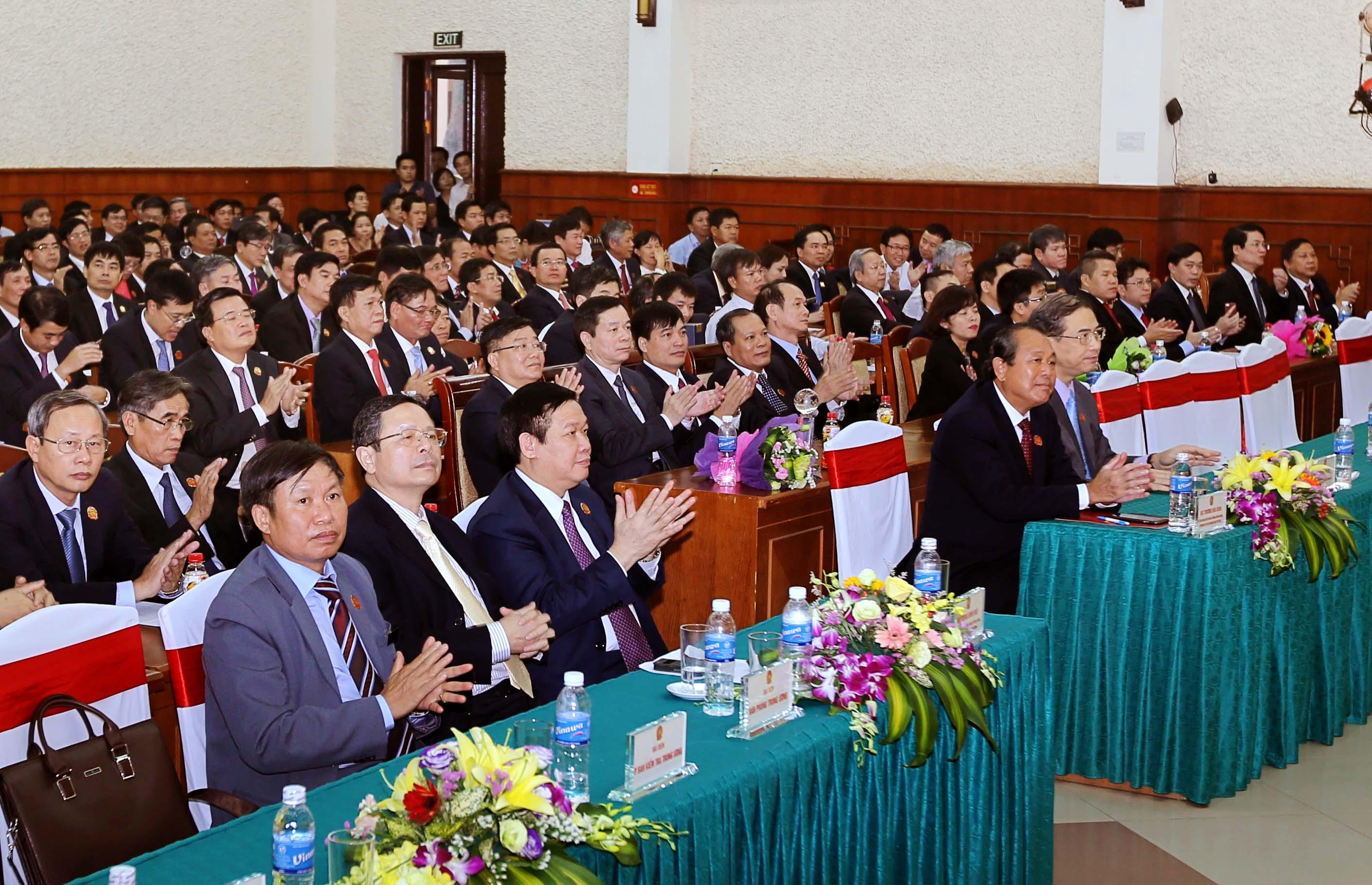 Các đại biểu dự phiên bế mạc Đại hội.