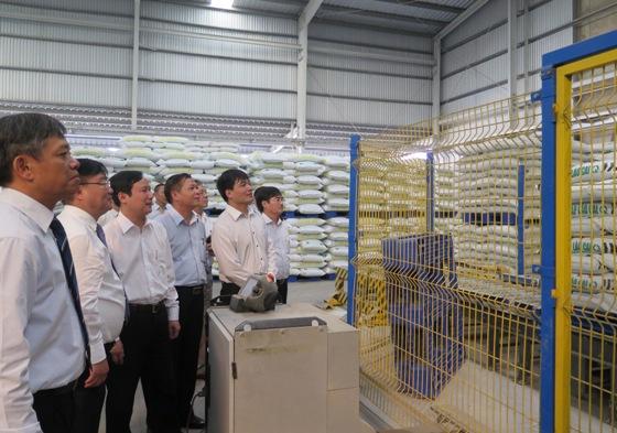 Các đại biểu thăm xưởng sản xuất DAP
