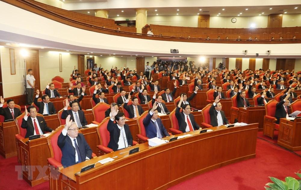 Các đại biểu tham dự phiên bế mạc Hội nghị.
