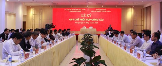 Các đại biểu tham dự lễ ký
