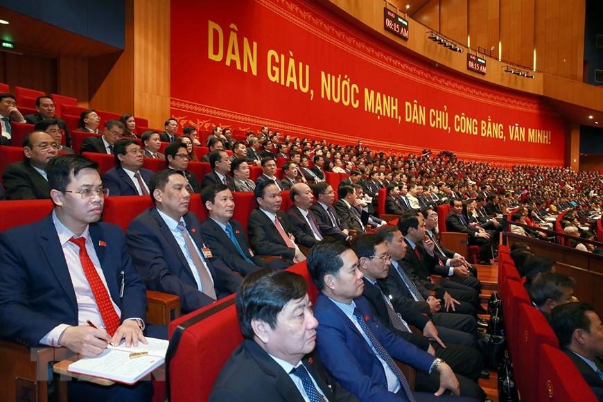 Đoàn Đảng bộ Khối Doanh nghiệp Trung ương tại Đại hội.