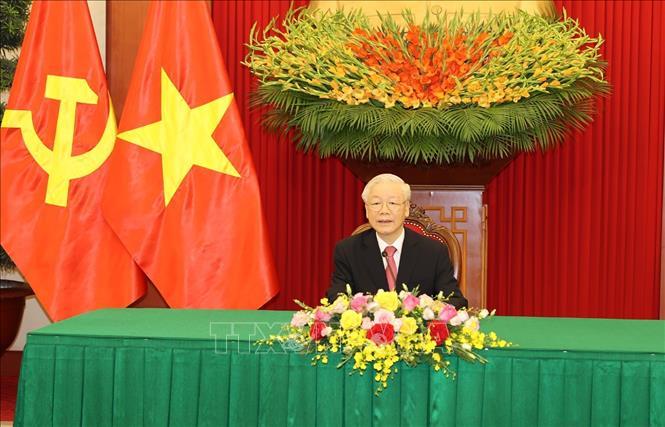 Đồng chí Nguyễn Phú Trọng, Tổng Bí thư Ban Chấp hành Trung ương Đảng Cộng sản Việt Nam.